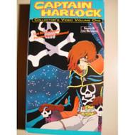 Captain Harlock Video Volume One On VHS - D610104