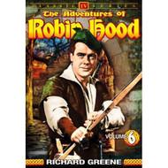 The Adventures Of Robin Hood Vol 6 On DVD with Richard Greene - D630620