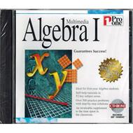 Multimedia Algebra I Software PC Vintage - DD570748