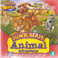Chick-Fil-A: Jump Start Animal Adventures 4 Of 4 Cd-Rom Software - DD571325