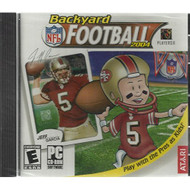 Backyard NFL Football Play With The Pro's As Kids! Windows 98/XP - DD573878