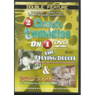 2 Classic Comedies: The Flying Deuces & Road To Bali On DVD with Stan - DD577513