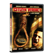 Citizen Verdict On DVD with Armand Assante Mystery - DD580779