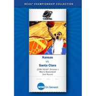 1996 NCAAr Division I Men's Basketball 2nd Round Kansas Vs Santa Clara - DD581219