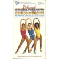 Balanced Fitness Workout Program On VHS Exercise - DD583501
