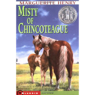 Misty Of Chincoteague By Henry Marguerite Dennis Wesley Book Paperback - DD584699