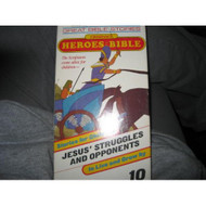 Children's Heroes Of The Bible #10 Jesus' Struggles And Opponents On - DD585347