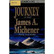 Journey On Audio Cassette by James A Michener David Mccallum Reader - DD589777