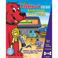 Clifford The Big Red Dog Learning Activities Software - DD589924