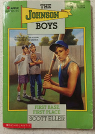 First Base First Place Johnson Boys By Eller Scott Book Paperback - DD591622
