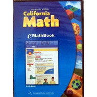 California Math: eMathBook Level 1 Software - DD591853