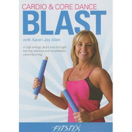 Fitstix Fitness/Cardio & Core Dance Blast On DVD Exercise - DD602335