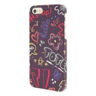 End Scene iPhone 5 5S Graffiti Doodle Case Cover - DD603091
