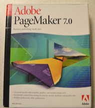 Adobe PageMaker 7.0 Upgrade Software - DD605516