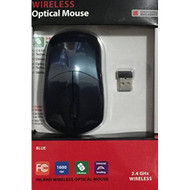 Wireless Optical Mouse Blue - DD607598