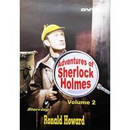 Adventures Of Sherlock Holmes Volume 2 Slim Case On DVD With Ronald - DD608667