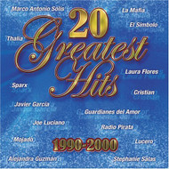20 Greatest Hits 1990-2000 By 20 Greatest Hits 1990-00 On Audio CD - DD614815