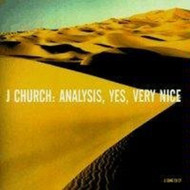 Analysis Yes Very Nice By J Church On Audio CD Album 1995 - DD618316