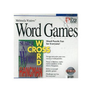 Cd-Rom Word Games By Pro One For Multimedia Windows 3.1 95 Or Higher - DD622702