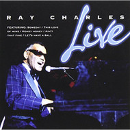 Live: Ray Charles By Ray Charles On Audio CD Album 2008 - DD632661