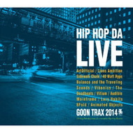 Hip Hop Da Live On Audio CD Album 2014 - DD633639