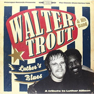 Luther's Blues A Tribute To Luther Allison By Walter Trout On Vinyl - DD637194