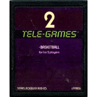 2 Tele-Games Basketball For Atari Vintage - DD637246