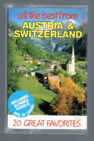 All The Best From Austria & Switzerland On Audio Cassette - DD644020