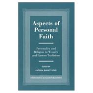 Aspects Of Personal Faith by Patricia Barnett-Friel - E021663