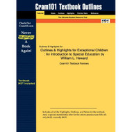 Studyguide For Exceptional Children: An Introduction To Special - E459183
