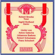 Lieder Recital Album Classical 2000 by Gatscha Brahms On Audio CD - E503144