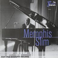 Blues Biography By Memphis Slim On Audio CD - E505386