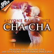 Anyone Can Dance: Cha Cha CD DVD On Audio CD Made In USA Album Dance & - E523764