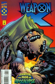 Weapon X #4 Age Of Apocalypse Into The Maelstrom - E93295