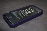 Incipio Edge Slider Shell For iPhone 4 Purple Case Cover Bumper 74176 - EE514879