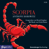 Alex Rider 05 Scorpia Von Horowitz Anthony 2008 On Audio CD Album - EE525214