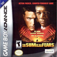 Sum Of All Fears GBA For GBA Gameboy Advance Action - EE526335