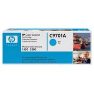 Hewlett Packard OEM Toner Cartridge C9701A Cyan 1 Cartridge C9701A Ink - EE532348