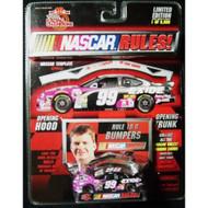 NASCAR Rules! 1999 Car #99 Jeff Burton 1/64 Scale Diecast Car - EE536929