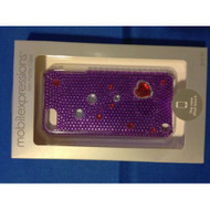 Crystal iPod Touch Case Purple/red ME2018 For The iPod Cover Fitted - EE542334