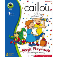 Caillou Magic Playhouse PC Software Children - EE551783
