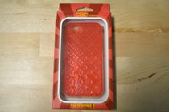 WoW Technologies iPhone 5 5S SE Case Diamond Pattern Red - EE563985