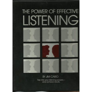 The Power Of Effective Listening Audio Cassette By Jim Cairo - EE569687