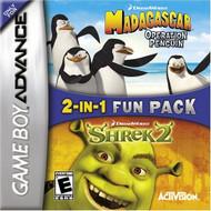 Shrek 2 / Madagascar:Operation Penguin For GBA Gameboy Advance - EE592583