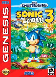 Sonic The Hedgehog 3 For Sega Genesis Vintage - EE618562