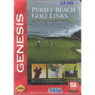 Pebble Beach Golf Links For Sega Genesis Vintage With Manual And Case - EE632896