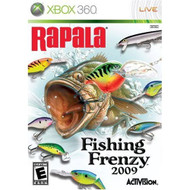 Rapala Fishing Frenzy For Xbox 360 With Manual And Case - EE633539