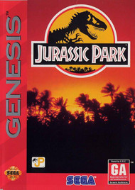 Jurassic Park For Sega Genesis Vintage - EE634110