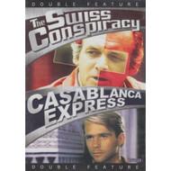 The Swiss Conspiracy / Casablanca Express Slim Case On DVD With David - XX610625