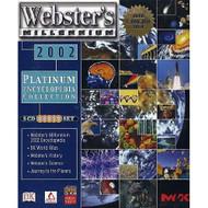 Webster's Millennium 2002 Software - XX628530